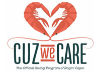 Ragin Cajun - Cuz We Care Program.