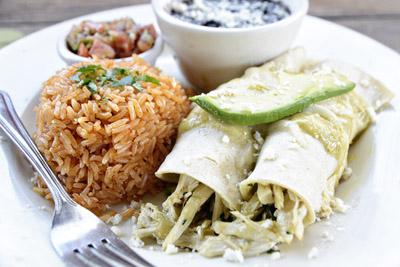 Kayndaves – Chicken Mole Enchiladas