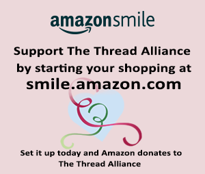 Smile Amazon for The Thread Alliance